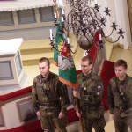 Liperin kirkossa vietettiin rajavartioston valatilaisuutta perjantaina.