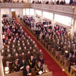 Viimeksi Liperin kirkossa järjestettiin valatilaisuus talvella 2013. Arkistokuva