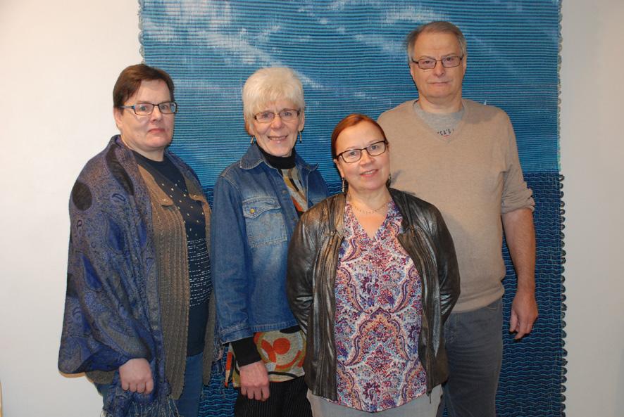 Tarja Musikka, Marjukka Konttinen-Lappalainen, Irma Käyhkö ja Timo Paakkunainen ovat Rääkkylän ensimmäiset paikallis-Janen jäsenet.