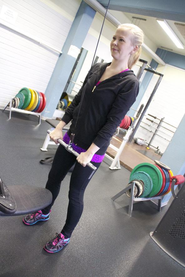 Hennariikka Virtanen kannustaa ottamaan yhteyttä, jos kaipaa liikuntavinkkejä. Arkistokuva