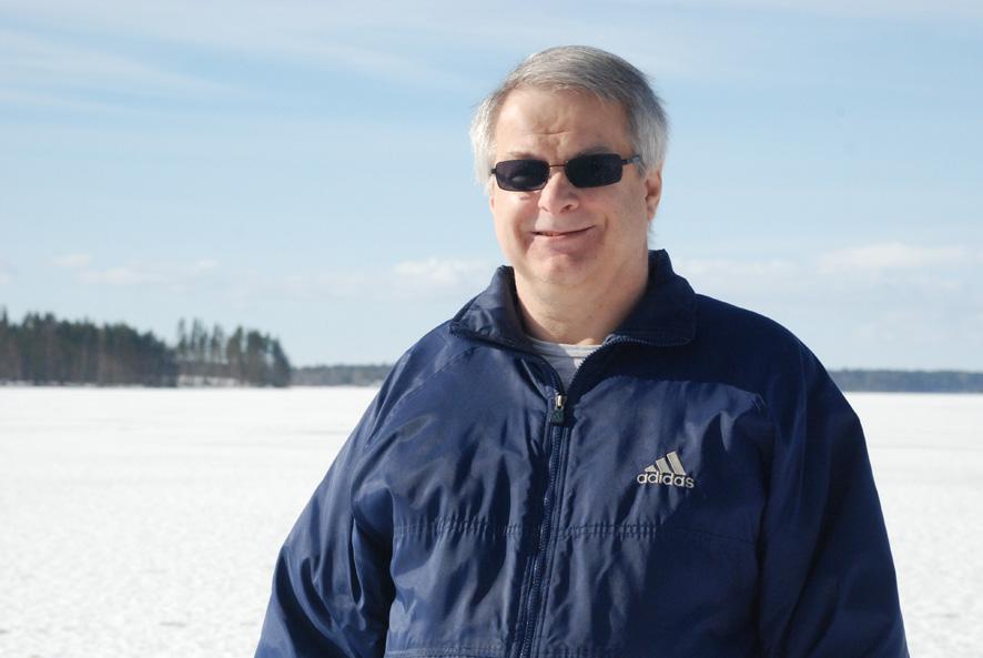 Timo Paakkunainen on viihtynyt Jaaman asukkaana jo kuuden vuoden ajan. Rääkkylä oli miehelle tuttu pitäjä jo lapsuudesta, vaikka työelämän vuosikymmenet kuluivatkin Etelä-Suomessa.