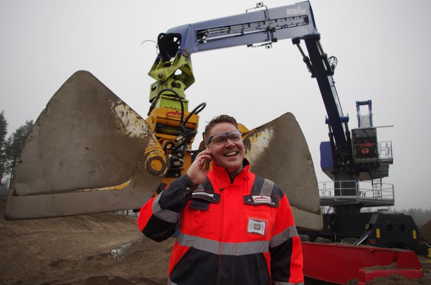 Mantsinen on Liperin suurin teollisuusalan työllistäjä. Arkistokuva