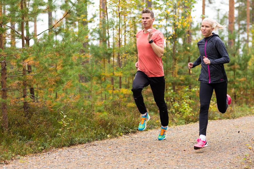 Janne Kivelä ja Anniina Walling
