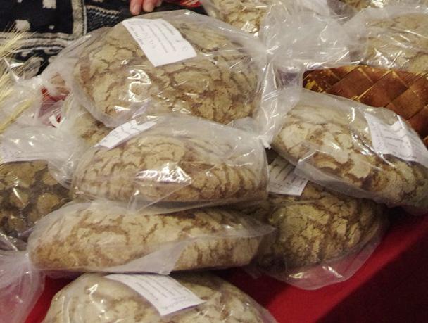 Tuottajatorin yksi myyntiartikkeli olisi varmasti ruisleipä.