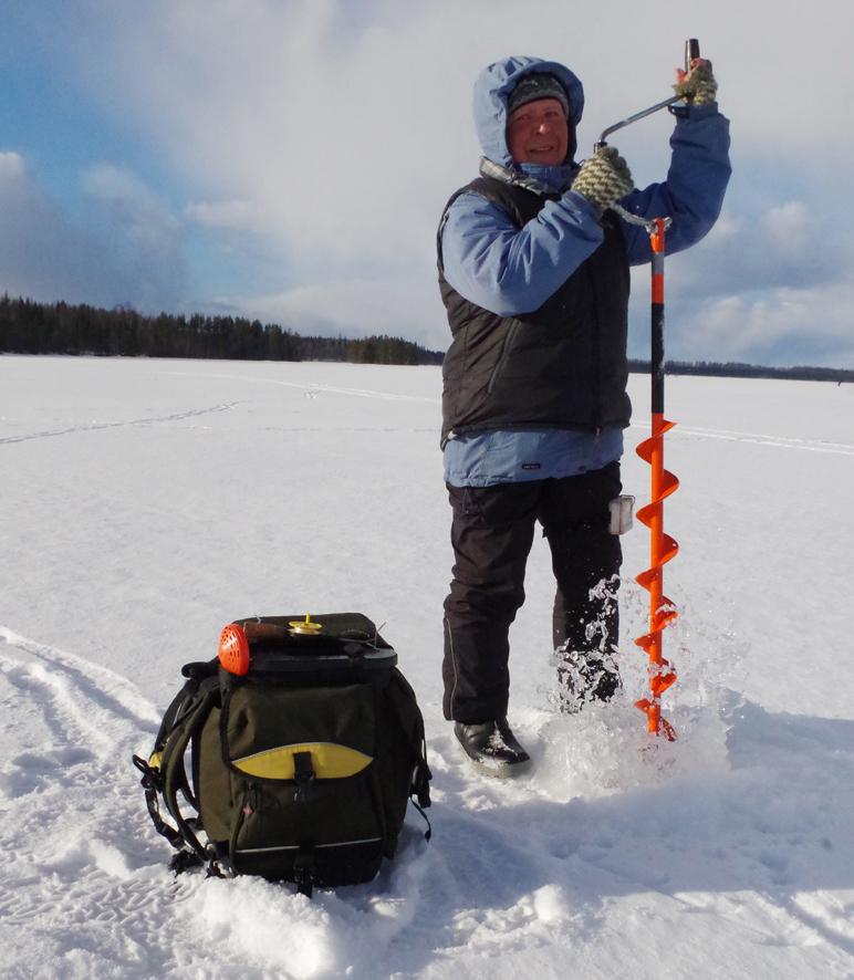 Joensuulainen Sirkka Kinnunen osallistuu Liperissä järjestettävään Yhteisvastuu-pilkkiin joka vuosi.