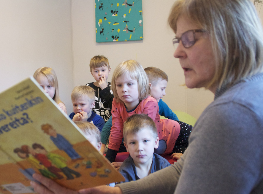 Jatkossa 5-vuotiaat liperiläislapset saavat varhaiskasvatusta maksutta 80 tuntia kuukaudessa. Kuva Ylämyllyn päiväkodista.