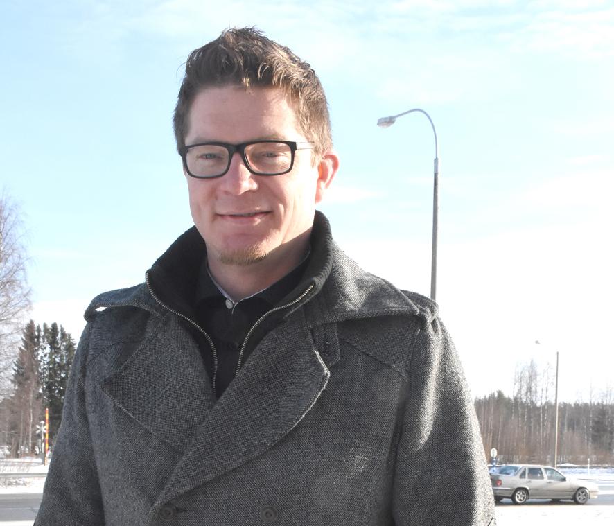 Heikki Kontkanen oli yllättänyt äänimääränsä suuruudesta.