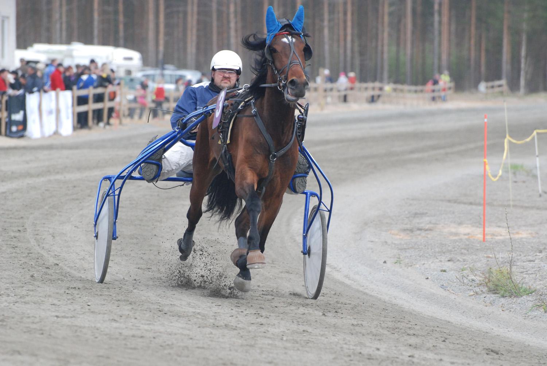 Rääkkyläläinen Antti Turunen ohjasti liperiläisomisteisen Mercin neljännelle sijalle.