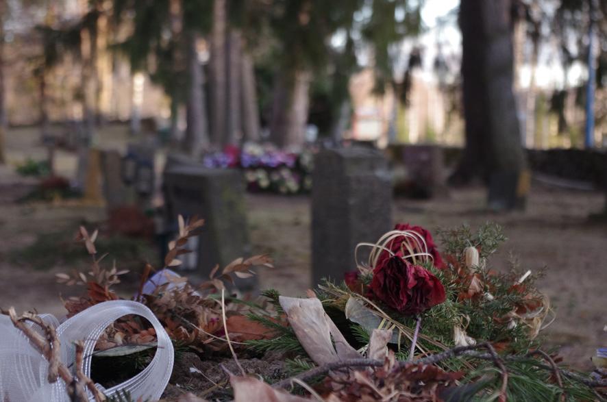 Liperissä haudan lepoon on alkuvuoden aikana laskettu poikkeuksellisen paljon ihmisiä. Kuva: Jutta Kurki