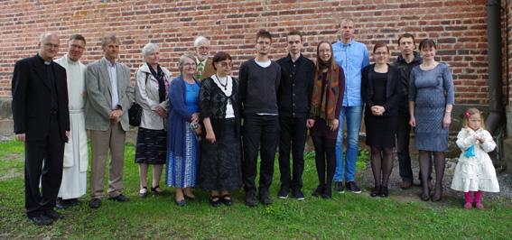 Sakun ystävyysseurakunnan vieraat piipahtivat Liperissä viime viikolla.