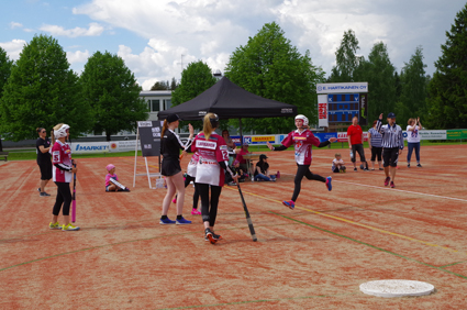 Lilja Juvonen toi ViU:lle juoksun viime viikonlopun kotiottelussa.