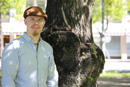 Kesäteologi Juuso Sikiö on tuttu näky jumpissa.