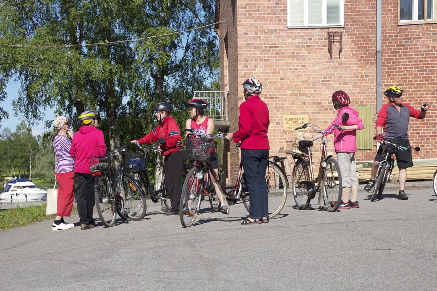 Liperin kirkonkylällä järjestetään lauantaina kulttuuripyöräily.