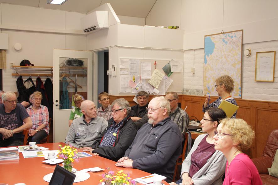 Kuoringan kunnosta keskusteltiin viime viikon keskiviikkona Salokylän kylätalolla.