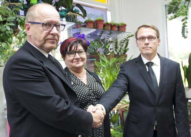Ilppo ja Paula Pesonen sekä Jouni Kähkönen aloittivat yrityskauppaa koskevat neuvottelut huhtikuussa.