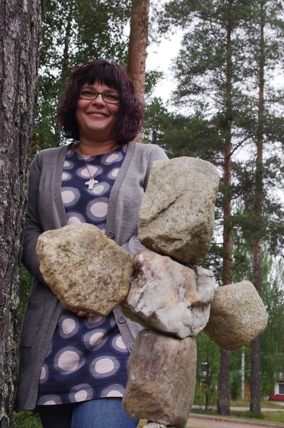 Marjut Lukkariselle Ylämylly ja Liperin seurakunta on ollut koti lähes koko elämän ajan.