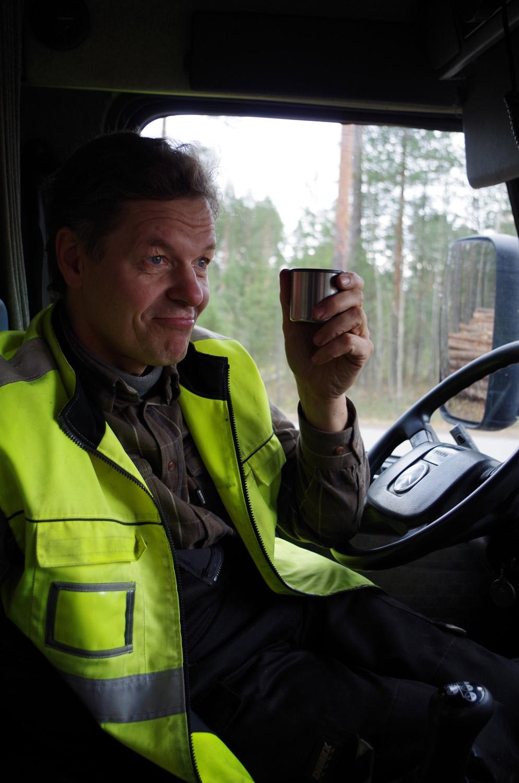 Jarmo Pietarinen on rekkamies.