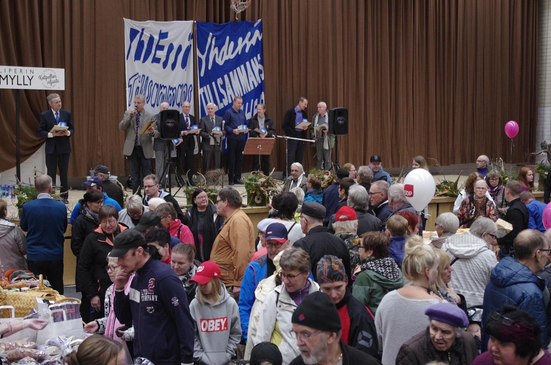 Leipäpäivässä juhlittiin Suomen ja MTK:n 100-vuotista historiaa.