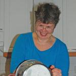 Anu Hyttinen leipoo niin työkseen kuin kotonakin.