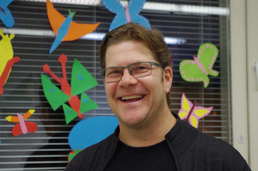 Lauri Volmanen on kolmen lapsen isä.