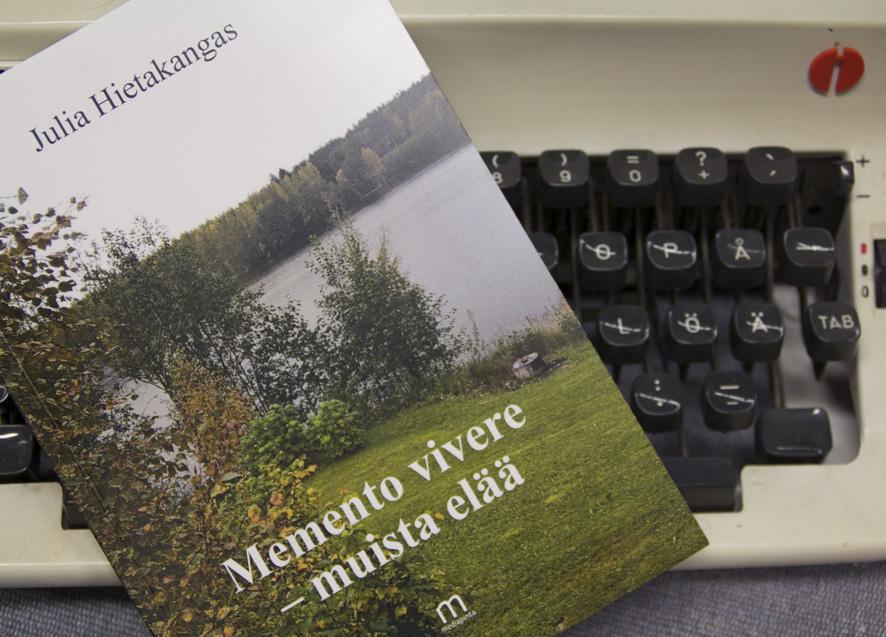 Julia Hietakankaan runokirjan kansikuva on otettu Liperinsalossa.