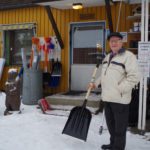 Diplomikauppias Matti Sallinen täyttää 19. tammikuuta 80 vuotta ja jatkaa hyvillä mielin työntekoa.