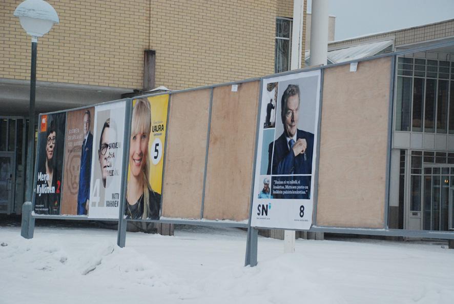 Jos rääkkyläläiset koululaiset saisivat päättää, Sauli Niinistö jatkaisi presidenttinä.