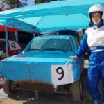 Ylämyllyläinen Mira Poutanen oli mukana ratakilpailussa ensimmäistä kertaa.