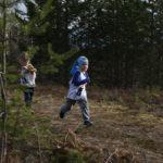 Seurakisat käynnistyivät 5-vuotiaan Veeti Ikosen voitolla maastojuoksussa.